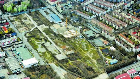 Begehrtes Bauland: Am Nordbahnhof entsteht neuer Wohnraum.