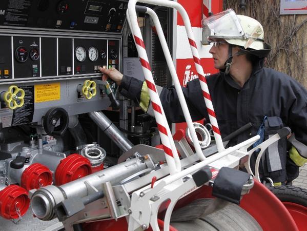Ganz schön oft musste Feuerwehrmann Michi Hofmann dieses Woche ausrücken.