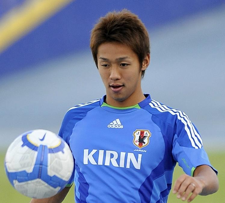 Schnell, ballgewandt, torgefährlich: Hiroshi Kiyotake aus Osaka.