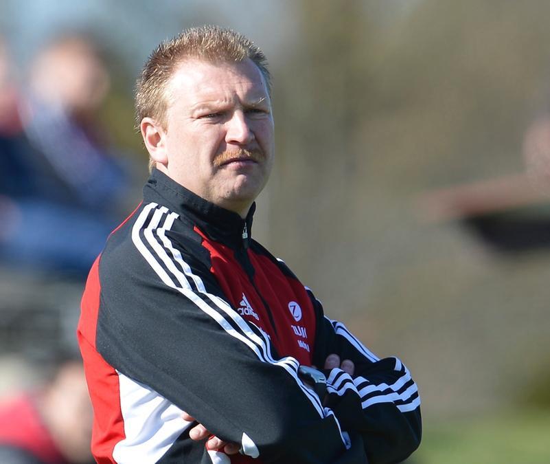 """Mit dem TSV Buch steht Roland """"Landy"""" Frey vor dem Aufstieg in die Landesliga."""