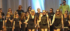 """Peter and the Wolvettes"" präsentierten die legendären Abba-Hits a-capella mit dem MRS-Chor."