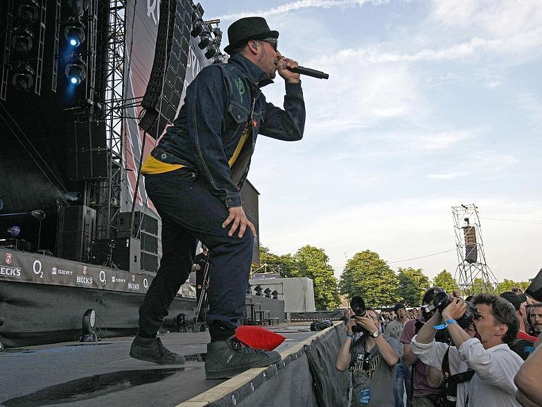 Räumt bei ihren Auftritten regelmäßig ab: Die deutsche Rock-Band Beatsteaks.