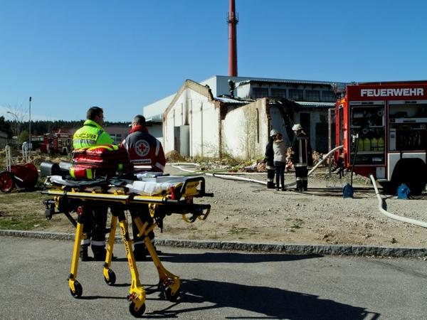 Ein 51-Jähriger wurde bei der Verpuffung in Georgensgmünd schwer verletzt.