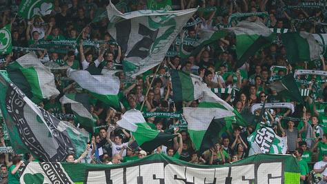 Die SpVgg Greuther Fürth kann in der Rückrunde auf die Unterstützung von 7.127 Dauerkarteninhabern zählen.