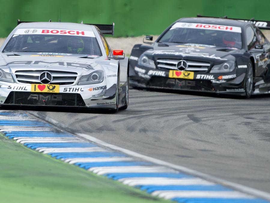 Mercedes-Benz dominierte beim DTM-Saisonauftakt auf dem Hockenheimring.