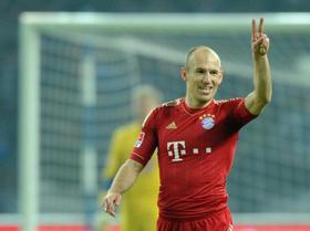 Bayern-Star Arjen Robben ist noch heiß auf zwei Titel.