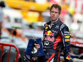 Weltmeister Sebastian Vettel hatte in diesem Jahr auf dem Circuit de Catalunya keine Chance.