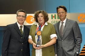 Caroline Küchle-Maas wurde für ihre Zivilcourage mit dem XY-Preis ausgezeichnet.