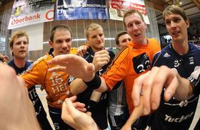 Sie wollen in Bad Schwartau Gas geben: Bastian Krämer, Rene Selke, Christoph Nienhaus, Nikolai Link und Claudio Schneck (von links).