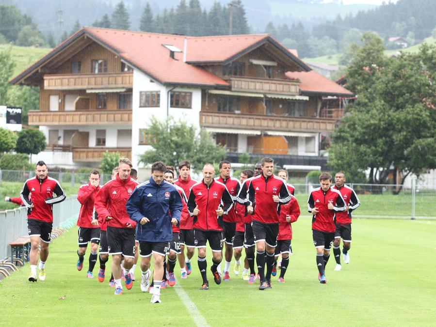 Im Allgäu legt der Club die konditionellen Grundlagen für die Bundesliga-Saison 2012/13.