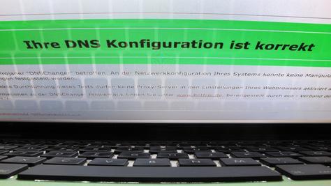 Mit einem einfachen Klick auf eine Internetseite können Nutzer überprüfen, ob ihr Rechner betroffen ist.