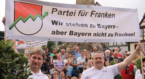 Die Partei für Franken will aus dem Tag der Franken wieder einen Tag für Franken machen.