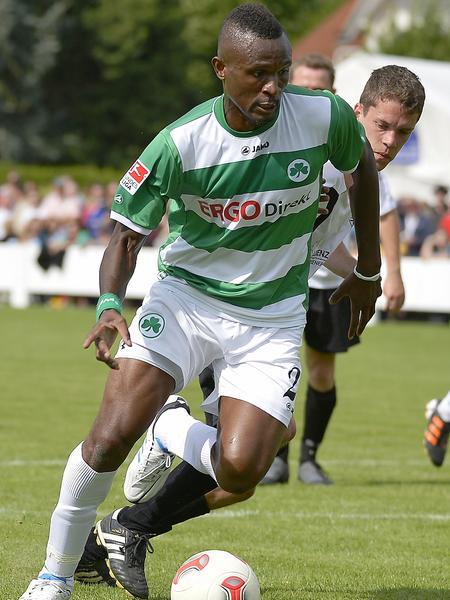 Wieder fit, aber noch großen Rückstand: Kingsley Onuegbu.