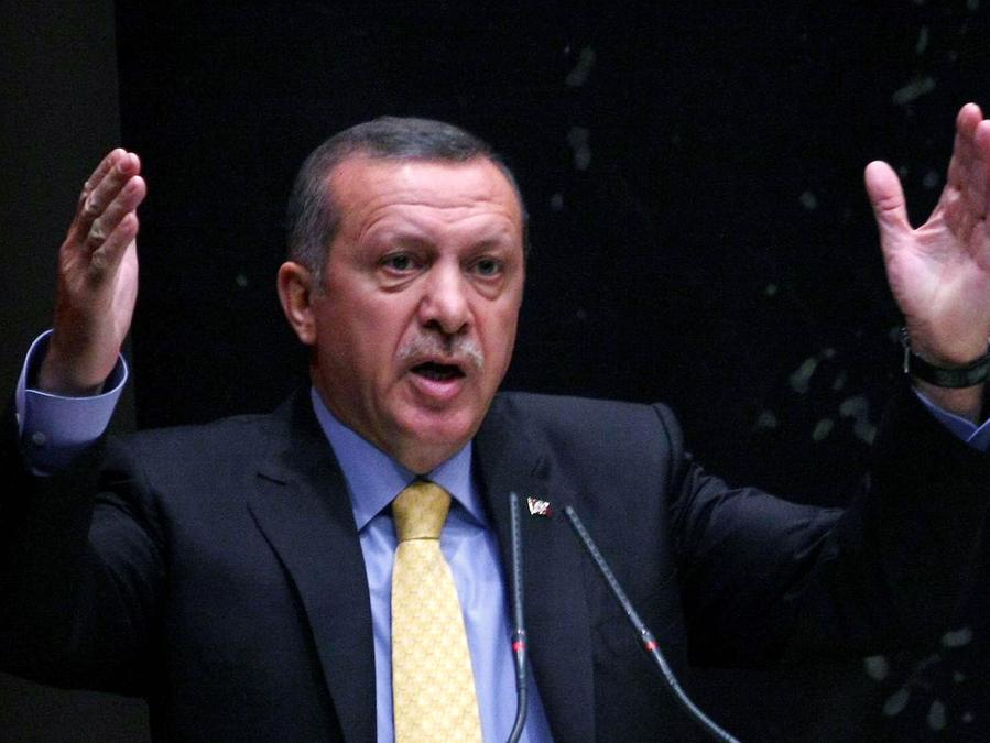Die Korruptionsaffäre hat den türkischen Premier Erdogan erreicht.