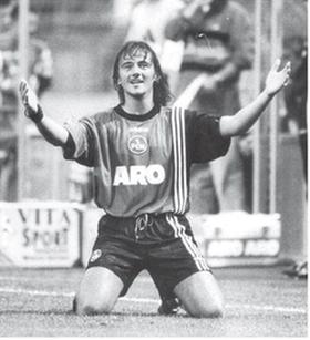 Von 1997 bis 2000 Profi für den 1.FC Nürnberg, jetzt mit dem SK Lauf in der Kreisliga: Thomas Ziemer.