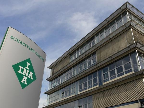 Der Firmensitz des Automobilzulieferers Schaeffler GmbH in Herzogenaurach.
