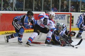 Die Ice Tigers gegen die Straubing Tigers.