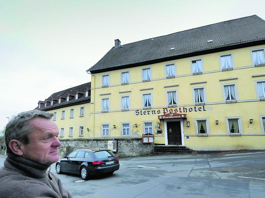 Das alte Posthotel könnte ein Schmuckstück werden, sagt Alfred Betz.