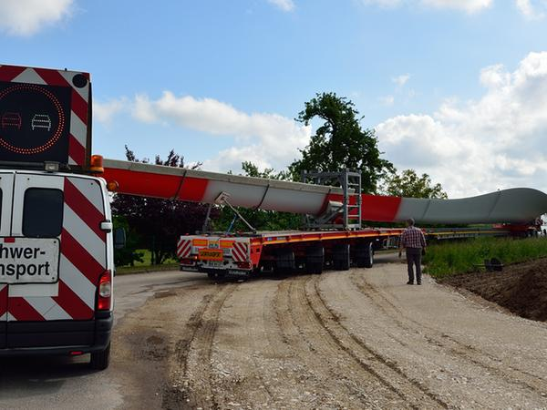 SamSon - Windrad - Transport