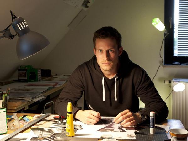 Lucas Krieg, BA-Arbeit an der TH Nürnberg..FOTO: Lucas Krieg