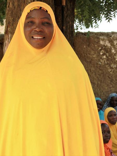 """Hassa ist die """"Mutter des Lichts"""" im Dorf"""