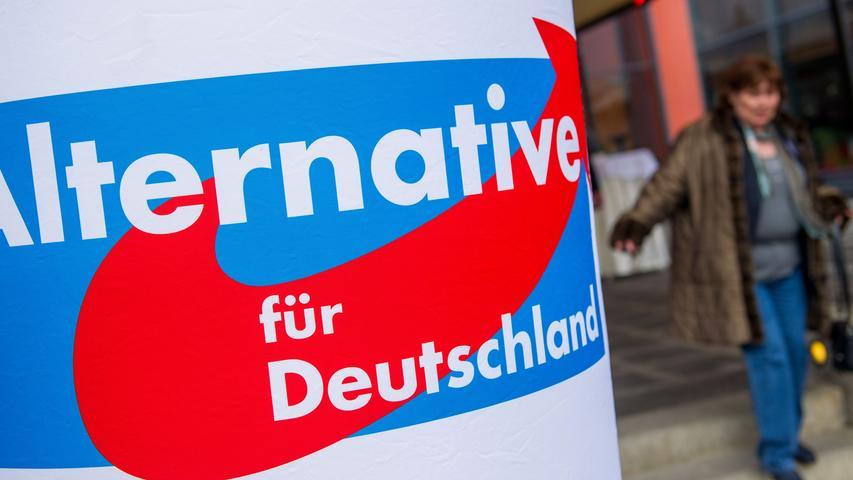 """Riccardo Pinckert war Schatzmeister bei der """"jungen Alternative Nürnberg"""" - der Jugendorganisation der AfD."""