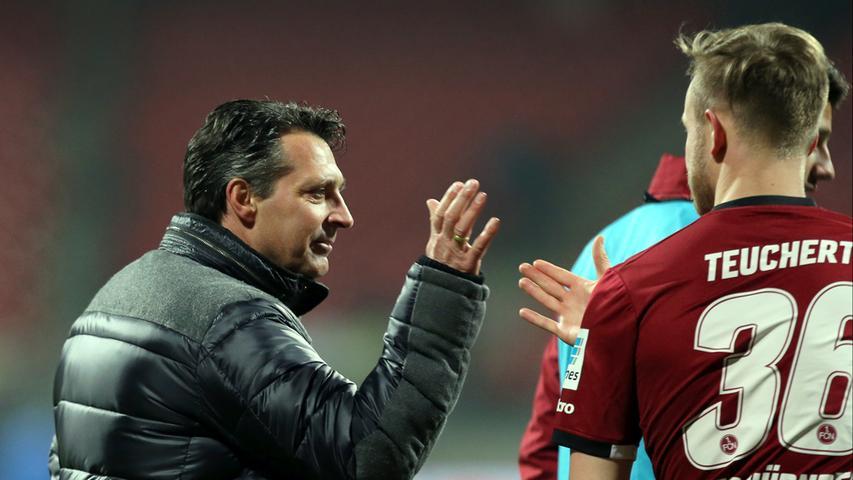 War am Ende zufrieden mit der Leistung seiner Mannschaft: Club-Trainer Alois Schwartz.