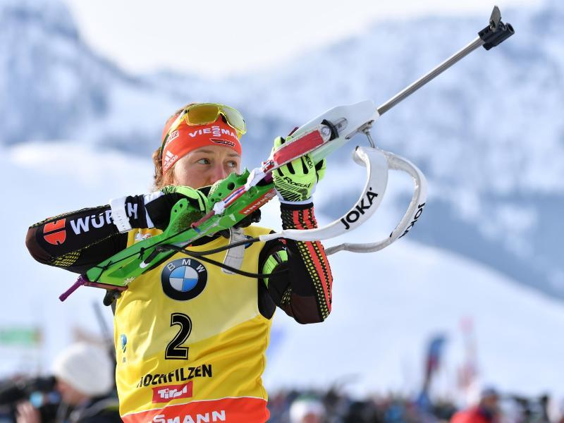 Laura Dahlmeier holt Platz zwei im Sprint