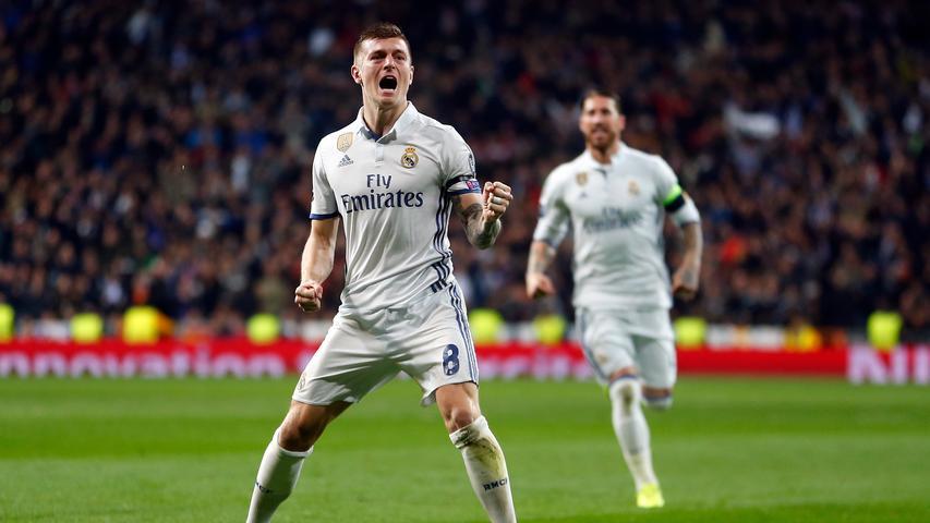Ronaldo legte auf, Kroos verwandelte direkt: Real Madrid besiegte am Mittwochabend den SSC Neapel mit 3:1.