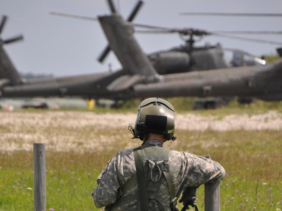 Bald kommt Verstärkung. Die US-Armee wird im Raum Ansbach zusätzliche Soldaten und zusätzliche Hubschrauber stationieren.