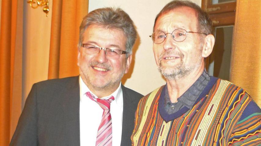 """Nach fast 33 Jahren als Stadtrat ging Rudolf Fischl in den """"Ratsruhestand""""."""