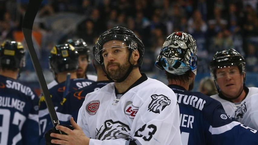 Bye Bye Nürnberg: Verteidiger Sasa Martinovic verlässt die Thomas Sabo Ice Tigers und wechselt zu den Iserlohn Roosters.