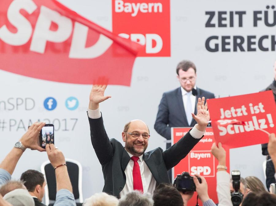 Seit Martin Schulz Kanzlerkandidat ist, hat die SPD Aufwind und zählt neue Mitglieder. Auch im Landkreis Roth.