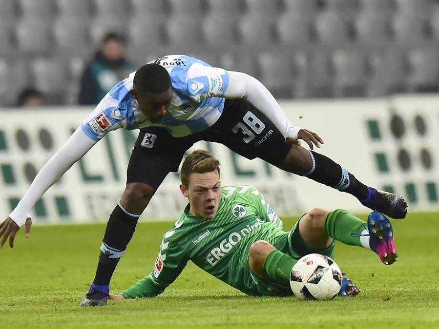 Dieser Junge rutscht auf karrieremäßig schnell nach vorne: Patrick Sontheimer ist bald auch für den DFB-Nachwuchs im Einsatz.