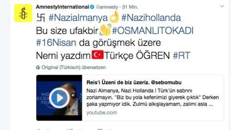 Tausende Twitter-Konten wurden am Mittwoch auf einmal mit Nazi-Vorwürfen gegen Deutschland und die Niederlande übersät.