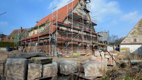 Im Sommer soll das Kulturhaus des Bezirks in Stein eröffnet werden. Die Stadt lässt sich die Sanierung des ehemaligen Bauernhauses heuer 700 000 Euro kosten.