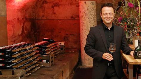 """120 Jahren """"Hotel & Weinrestaurant Steichele"""": Ein Grund für Bernhard Steichele, seinen """"Weinbunker"""" aufzusperren."""