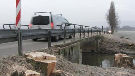 Diese Brücke über die Altmühl von Markt Berolzheim nach Trommetsheim ist arg in die Jahre gekommen und soll nun einem Neubau weichen.