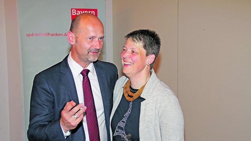 Anette Pappler und Lutz Egerer sorgen für spitze Bemerkungen.