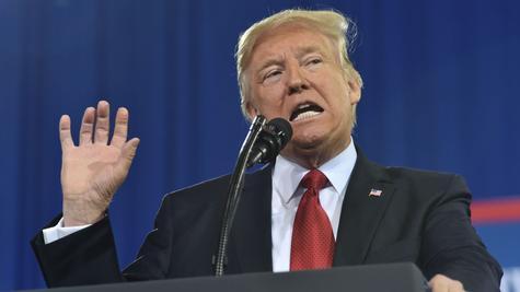 US-Präsident Donald Trump spaltet die Gemüter.