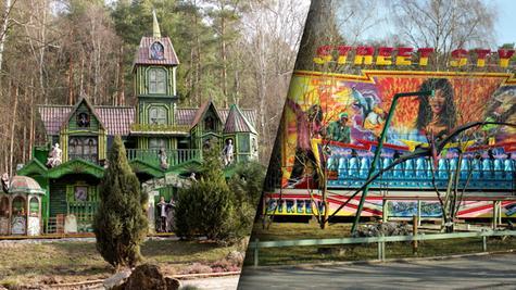 Mit dem Horrorhaus (links) und dem Street Style will das Freizeitland in Geiselwind zu altem Glanz zurückfinden.