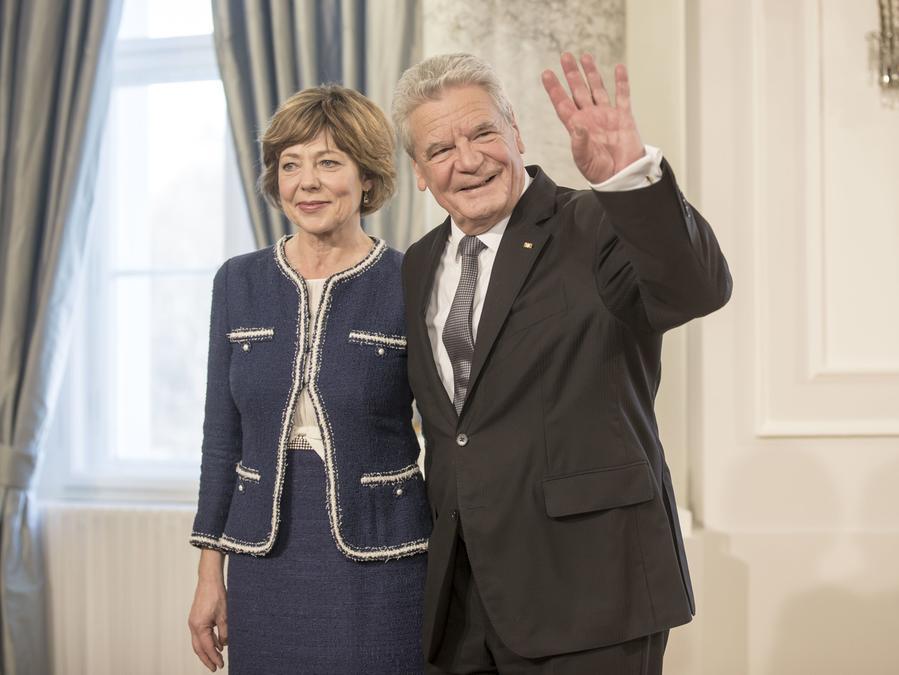 Sie ist die Frau an Joachim Gaucks Seite: Daniela Schadt.