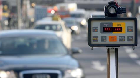 Autofahrer aufgepasst: In Oberfranken wird in den kommenden Tagen fleißig geblitzt.