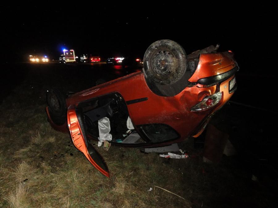 Bei einem Unfall am Samstag zwischen Unterrödel und Heideck entstand hoher Sachschaden. Verletzt wurde laut Polizei niemand.