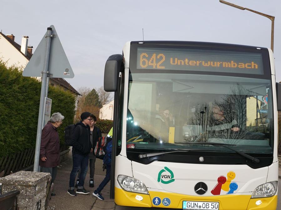 """Aus für den """"Worma-Express"""": Noch steuert die Buslinie 642 alle Haltestellen in Unterwurmbach an. Im Herbst wird sie mangels Nachfrage eingestellt."""