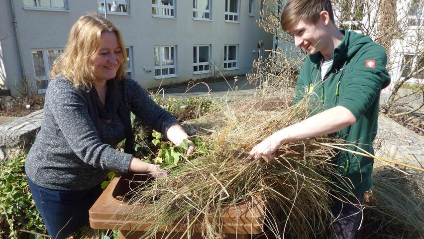 Die Saison-Biotonne erleichtert den Gartenbesitziern im Kreisgebiet das Entsorgen des Grünguts.