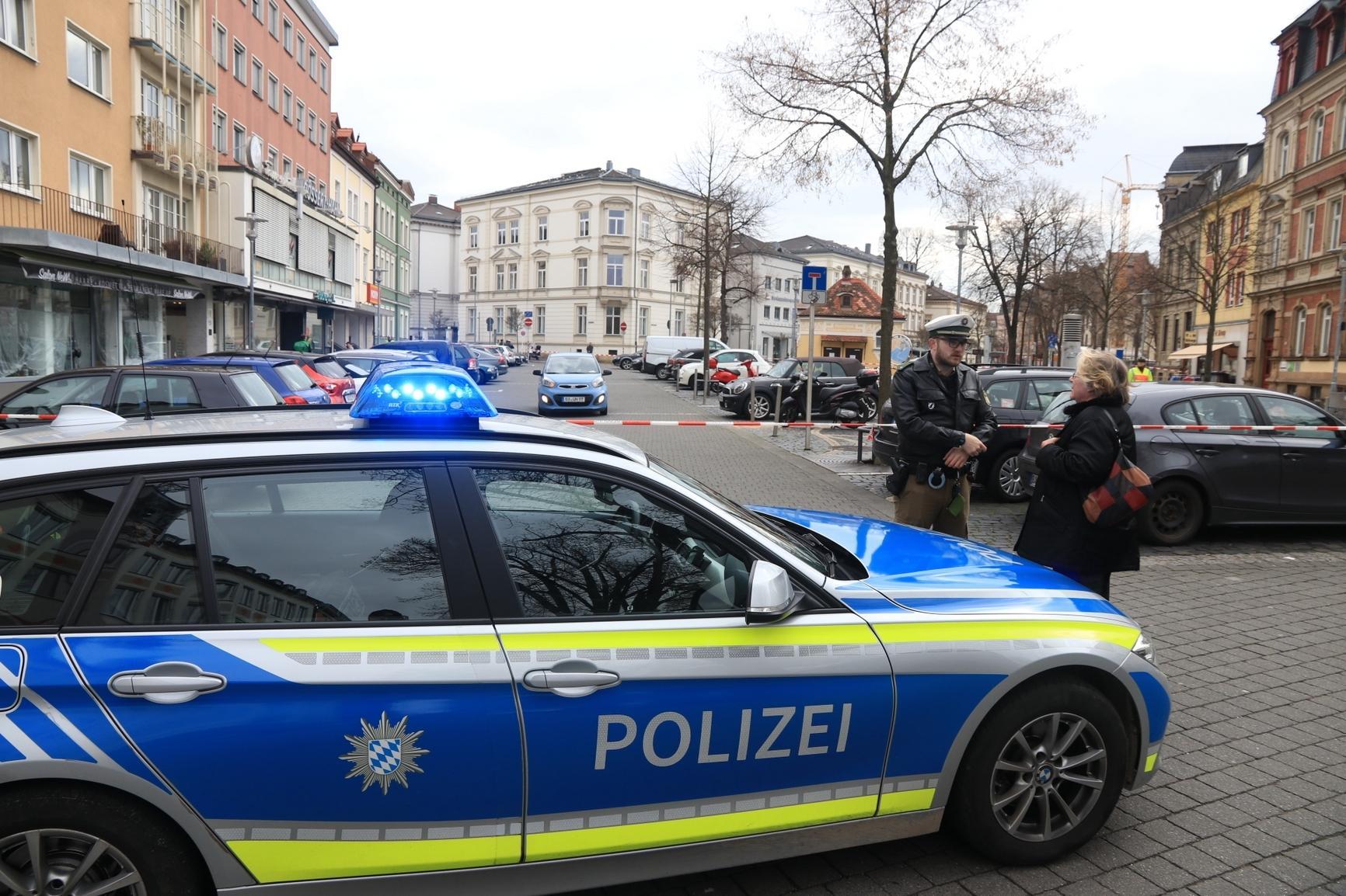 Bombendrohung: Polizei räumt Busbahnhof in Bamberg