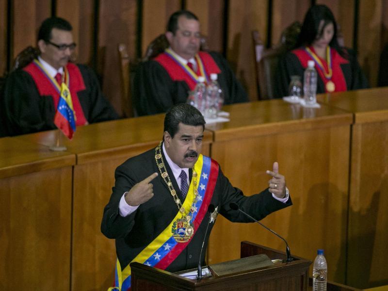 Nicolás Maduro: Venezuelas Oberster Gerichtshof entmachtet Parlament
