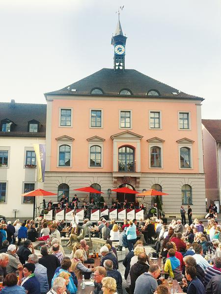 Klassik am Rathausplatz.