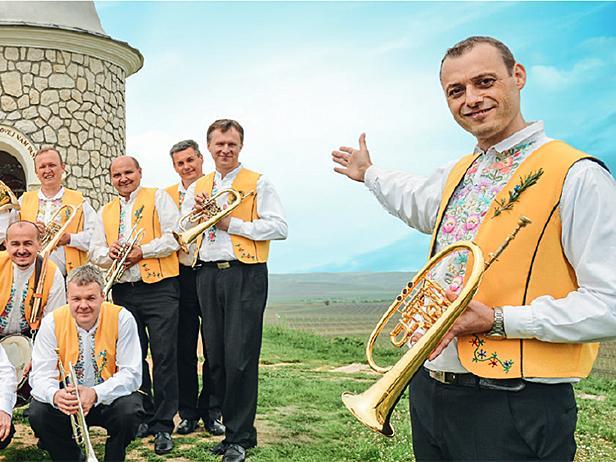 Vlado Kumpan und seine Musikanten.